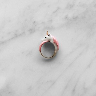 Unicorn ring Pink