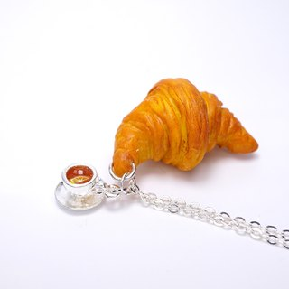 *Playful Design* Croissant Necklace