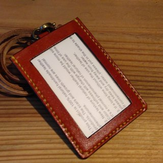 Hand-stitched leather Card Holder