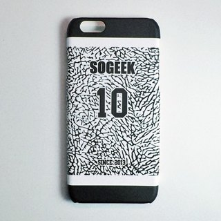 SO GEEK phone shell design brand THE JERSEY GEEK jersey back number Customized paragraph 037