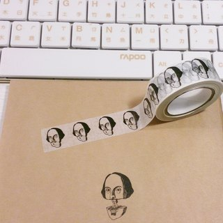 Mr. Shakespeare is not at all on paper tape