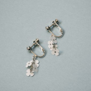 イヤリング:Paper Flower Earrings No.3