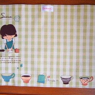 Time placemats exclusive group (green)