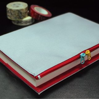 B6 / 32K two-color cotton multi-functional clothing / book cover / book cover (zipper section)