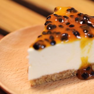 Father's Day - Passion Fruit Cheesecake - Intense Sour and Sweet Taste / 6""