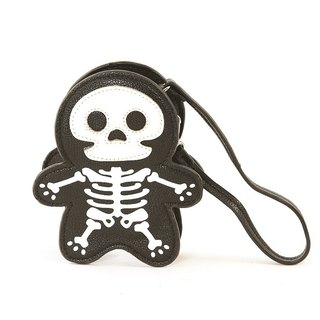Sleepyville Critters-Skeleton Zippered Coin Purse