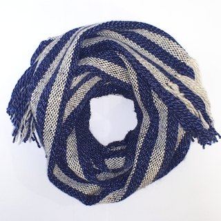 // Galaxy-Blue // limited edition hand-woven scarves feel a