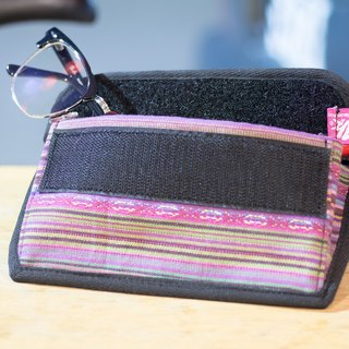 Glasses case + zipper pouch