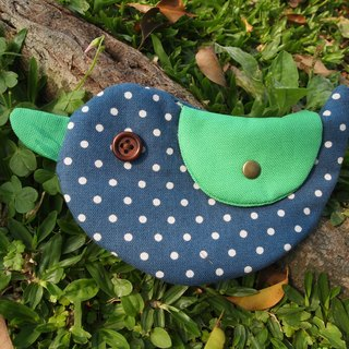 Blue little happiness Bluebird / purse