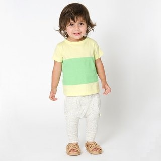 [Nordic children's clothing] Swedish organic cotton baby fart pants white