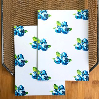 Full version of Blueberry A5 blank notebook (buy one get one free)