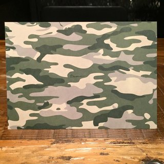 Camouflage Cater Postcards