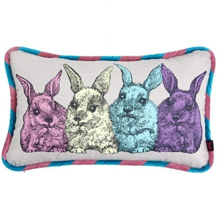 GINGER LUXE│ Denmark and Thailand design - Wonderland rabbit pillow cushions