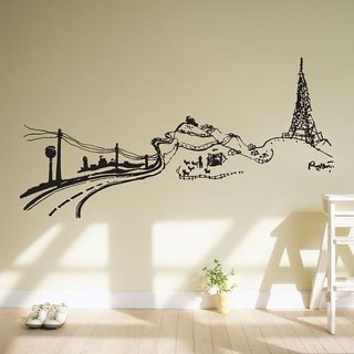 / Country / Wall Sticker / ECO-Material