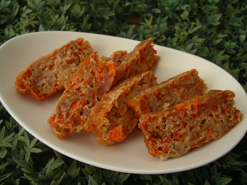 Dog hand-dried meat - [carrot meat] -50g