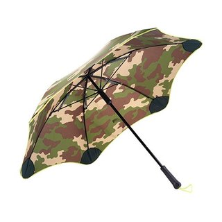 [BLUNT Paulant] CLASSIC Anti-Strong Wind Straight Umbrella - Camouflage Totem (Camouflage Yellow)