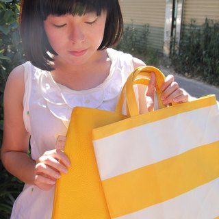 Gold Recommended school season - European grain color Reversible Tote (three colors)