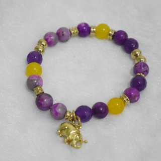 S & amp; A- beautiful color Shu born to beaded bracelet