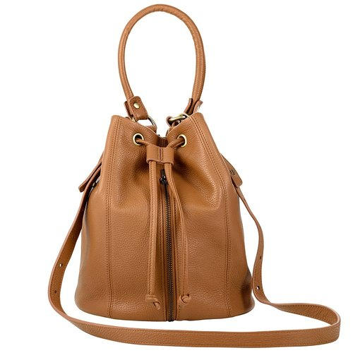 Premonition bucket bag_Tan / camel