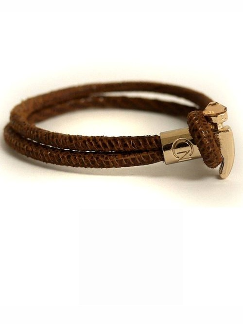 Hammer. Bracelet: Brown