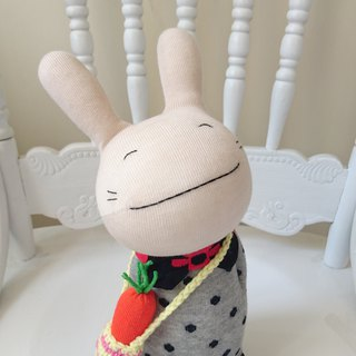 Radish Rabbit / Doll / Sock Doll / Rabbit