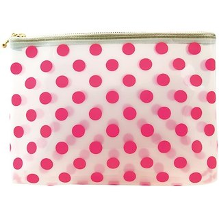 [Japanese] Neige LABCLIP Series pouch (M- zipper) / pink