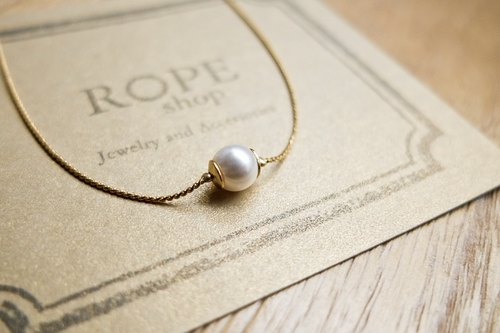 ROPEshop [small white] necklace.