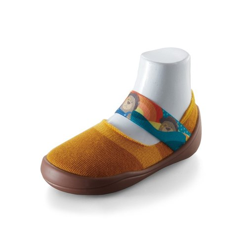 feebees toddler shoes / socks shoes / indoor and outdoor Jieke wear - Happy School / Sunrise Earth