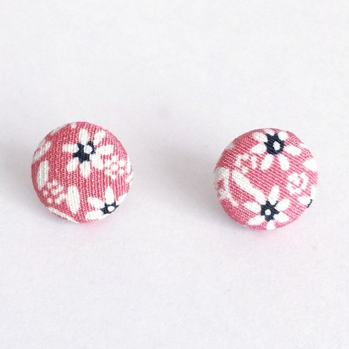 Earring with Japanese Traditional pattern, Kimono