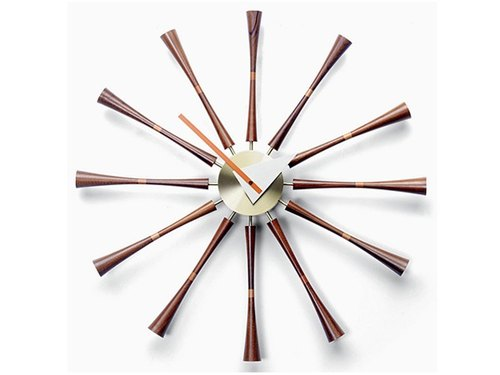 [A.cerco] axis Spindle Clock wall clock clock / Classic Design / Nordic / loft wind / pop style (B19008)