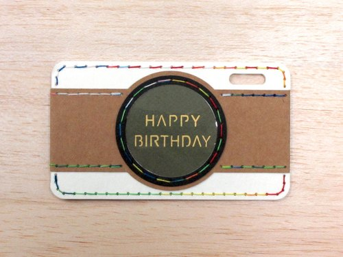 Sew modeling camera card