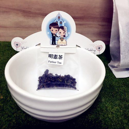 """Father Tea‧ Ming Xian Tea"" little things ‧ creative wedding Chaka group (6 in)"