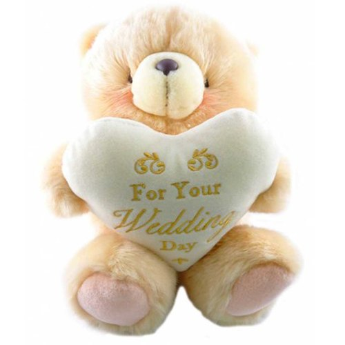 ◤ wedding blessing raging | FF 8-inch nap Bear Wedding Set