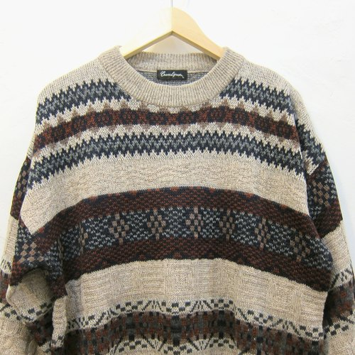 ❄ ❄ Winter Dreams neutral national wind vintage knit sweater