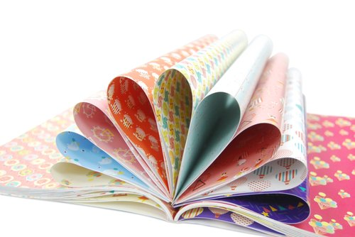 Carnival Wrapping Paper Book