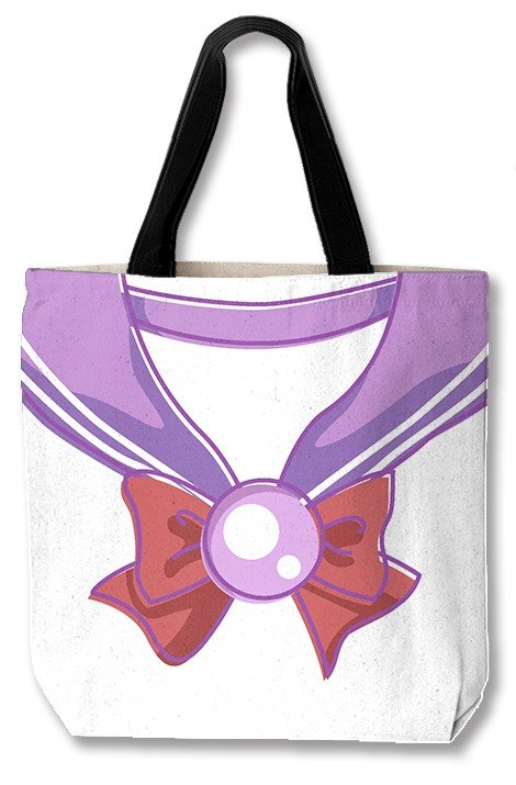 Purple girl uniforms of their own design canvas bag