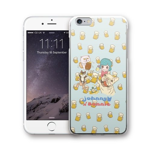 PIXOSTYLE iPhone 6/6S Plus 原創設計保護殼 - Johnny&Bonnie PSIP6P-312