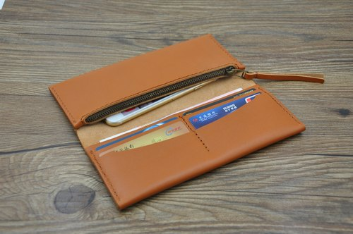 Hand wallet multi-card bit Apple iPhone 4s5sc67plus multifunctional mobile wallet protective sleeve leather wallet