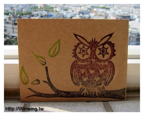 Environmental handwriting Custom Calendar - Owl