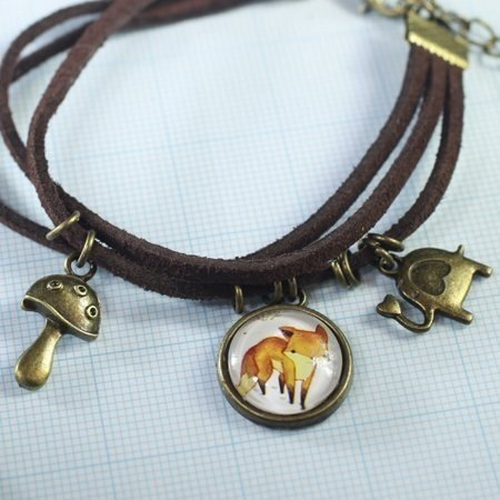 The Little Prince fox bronze bracelets ‧ Brisk Mori manual healing system