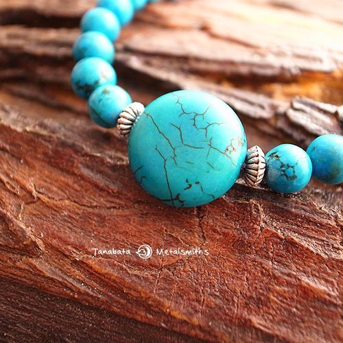 ☽ Qi Xi hand for ☽ turquoise bracelet (small pieces of 6mm)