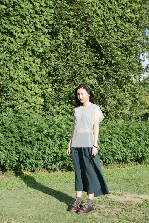 A FOR WHAT_SS15PT103DGN_ wide pants