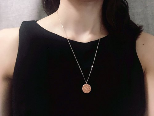 Rose Gold coin Necklace