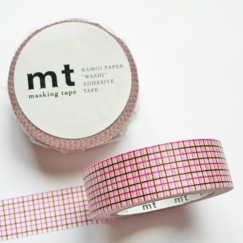 mt and paper tape Deco [the eye - purple + coffee (MT01D272)]