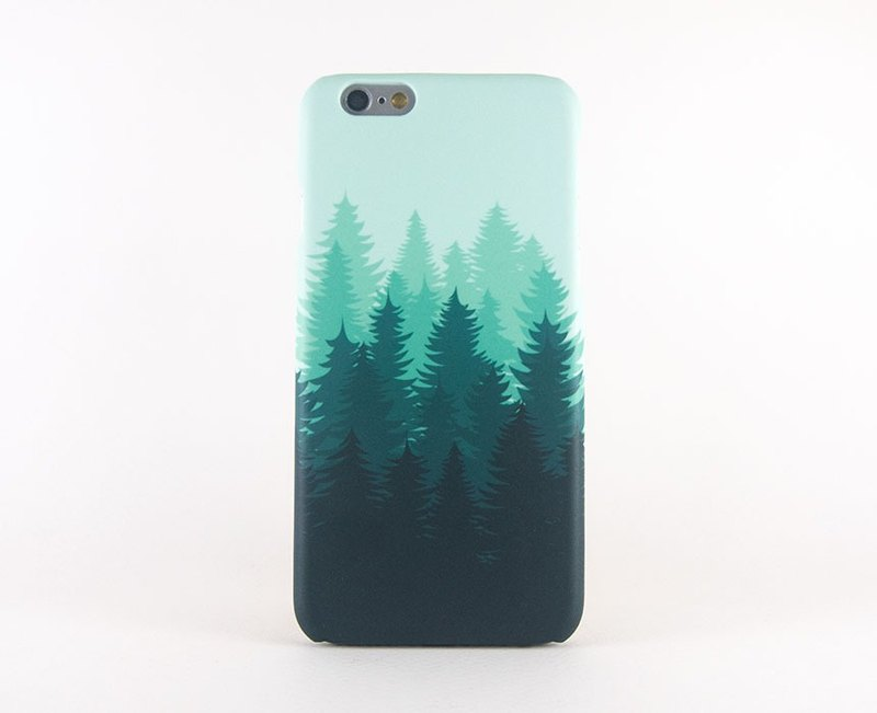 Green Forest Silhouette iPhone case / Samsung Galaxy case 手機殼