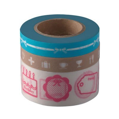 Marks Masking Tape MT and paper tape hand accounts -Girly (DA-MKT8-BL)