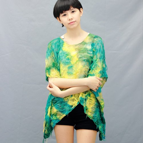 chiffon X Ocean Styles /yellow-green