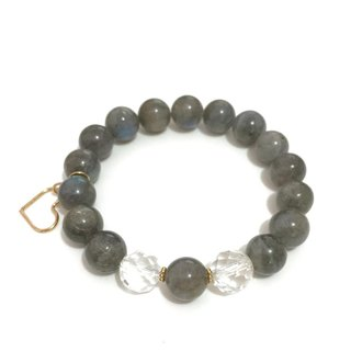 Simple and Chic Labradorite Bracelet