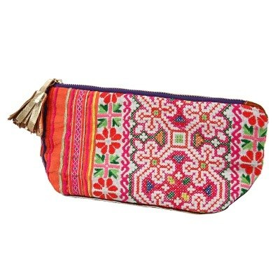 GINGER │ Denmark and Thailand design - tribal customs - pouch