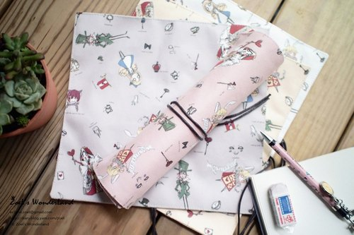 Pen volumes (bags) ▌ paragraph ▌ pink Alice in Wonderland ▌ZoeL original illustrations